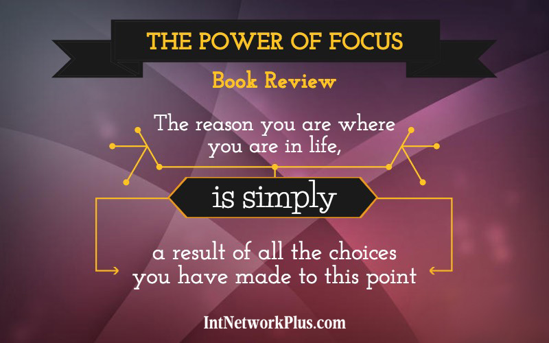 Life goals. The power of focus book review