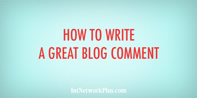 Have you ever thought about blog comments as an online marketing tool? In this article you'll discover how to write a great blog comment. #blogging #contentmarketing #bloggingtips #creativeentrepreneur#copywriting #writing