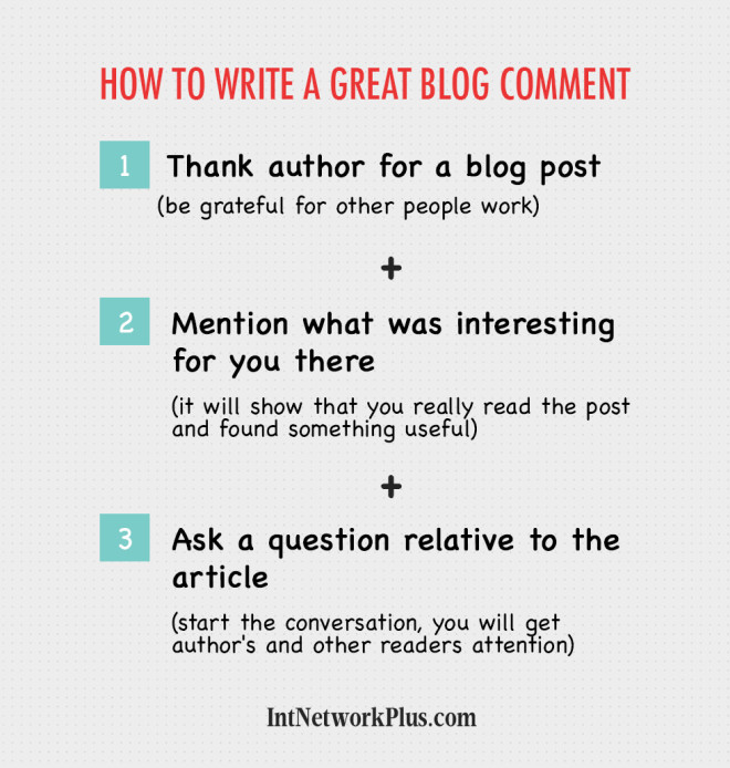 Have you ever thought about blog comments as an online marketing tool? In this article you'll discover how to write a great blog comment
