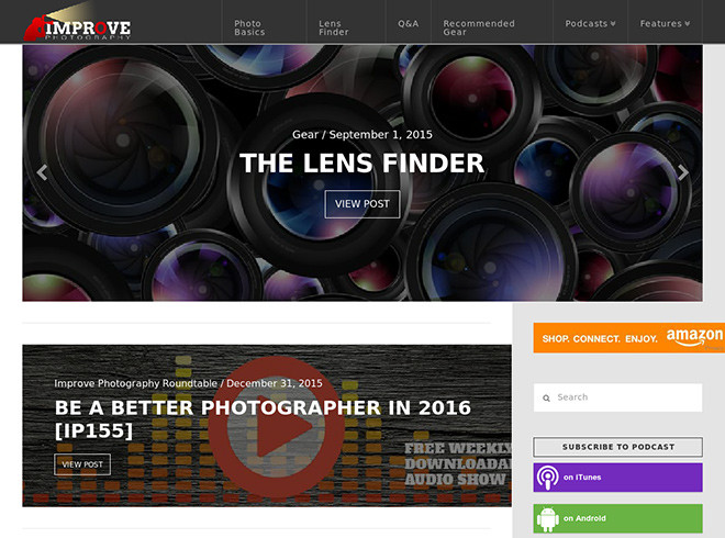 Websites for Photographers to Become a Professional Photographer