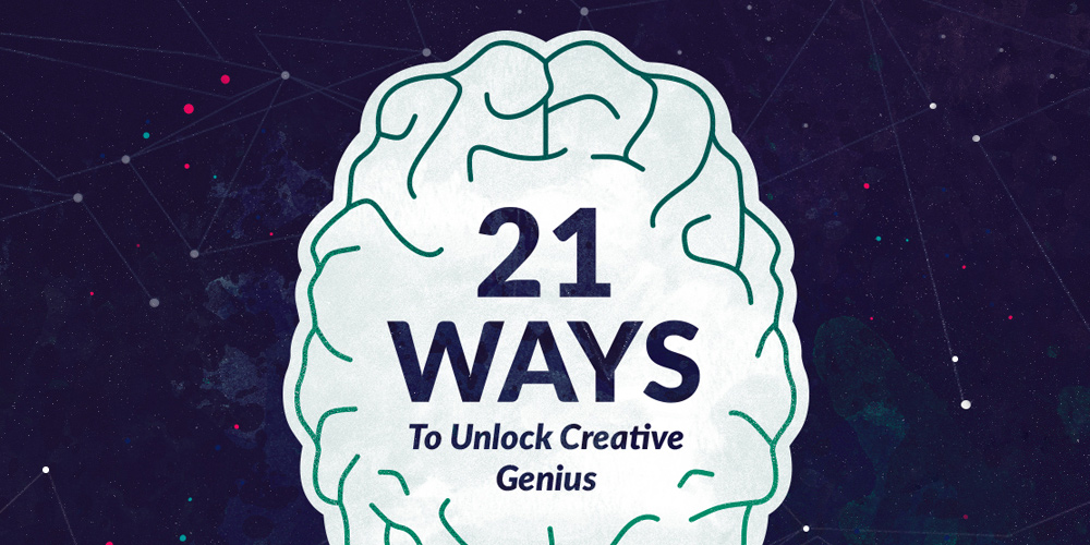 21 Ways to Be Creative Every Day. #creativity #inspirational #entrepreneur