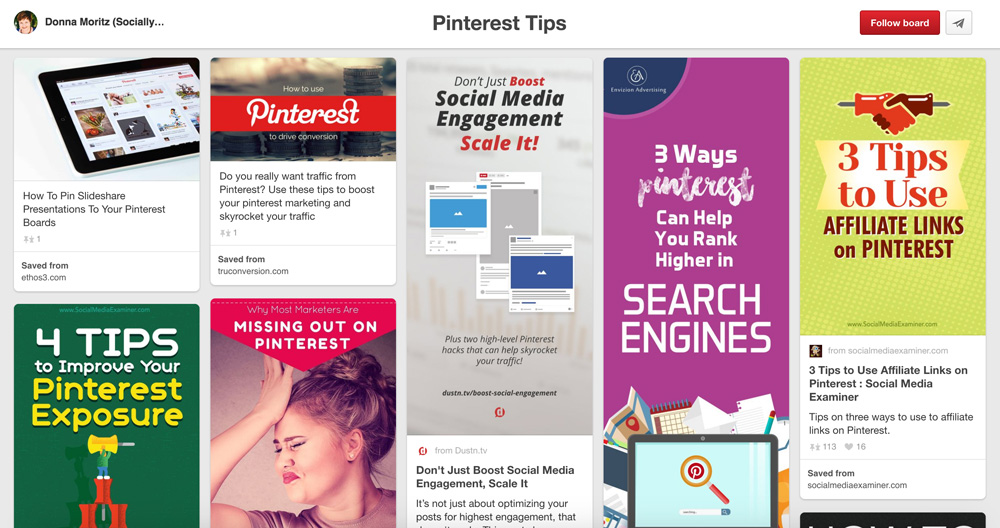 Pinterest Boards About Social Media Marketing