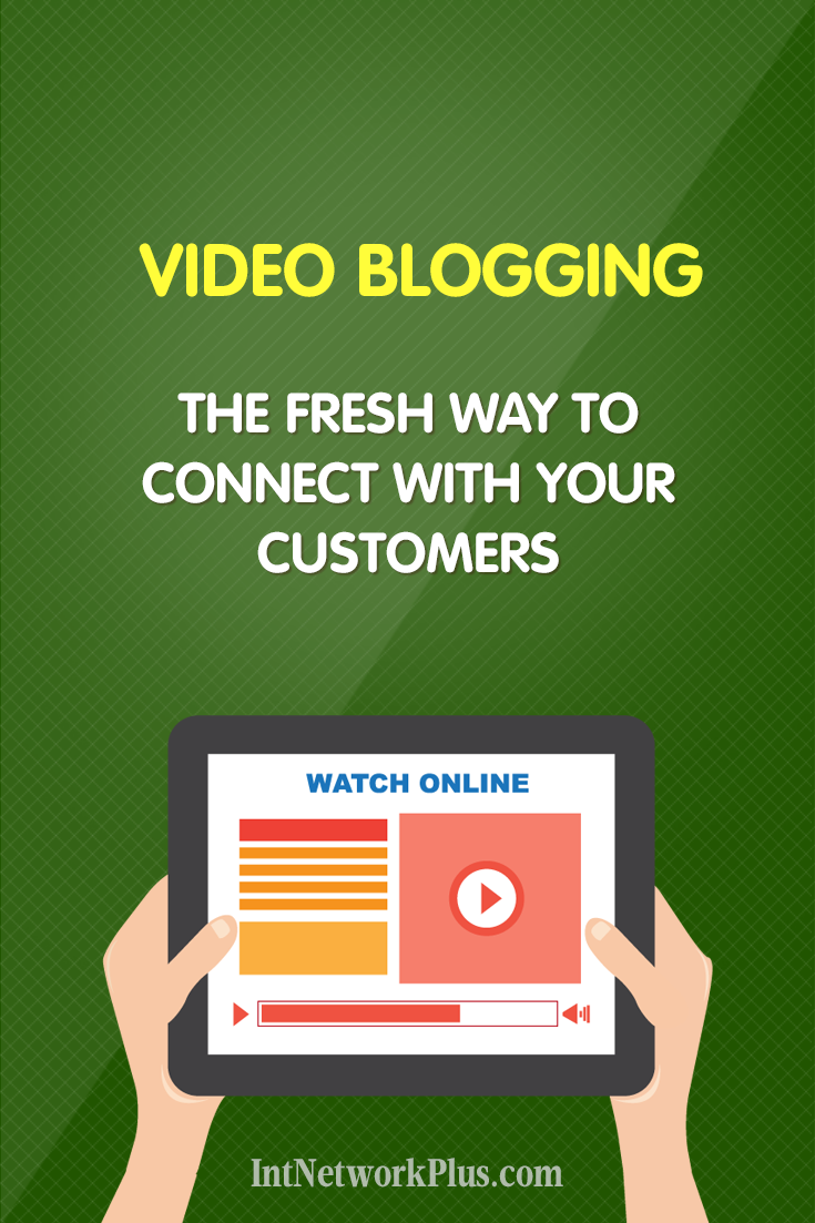 Video blogging is helping to build trust between your brand and people. Check these tips on video blogging as the way to create an emotional connection with your customers. #videomarketing #onlinemarketing #videoblogging #blogging