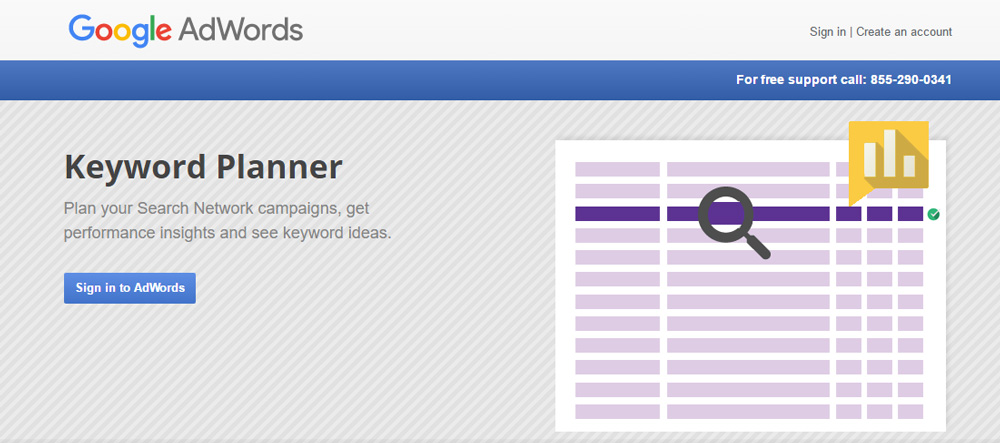 Keyword Planner Marketing Tools For Small Business