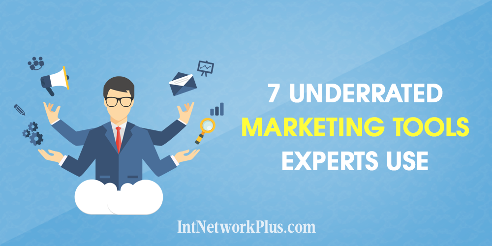 Want to be more productive in marketing? Here are 7 underrated marketing tools for small business that experts use and which will be helpful for you too.