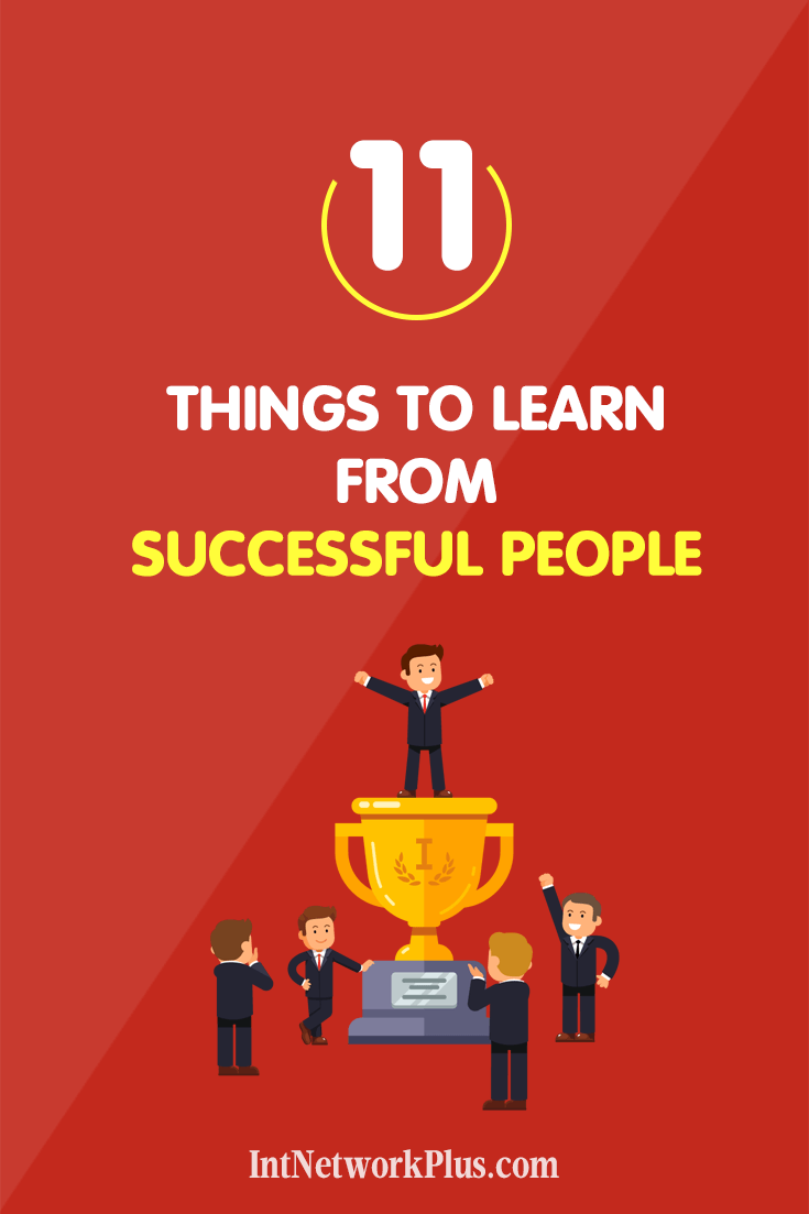 Have you thought about what helps people to become successful? Learn from successful people by watching what they do and implementing that in your life and business, via @MarinaBarayeva.  #success #business #entrepreneur #smallbusiness #infographic #branding #personalbrand #ladyboss #mompreneur #womeninbusiness