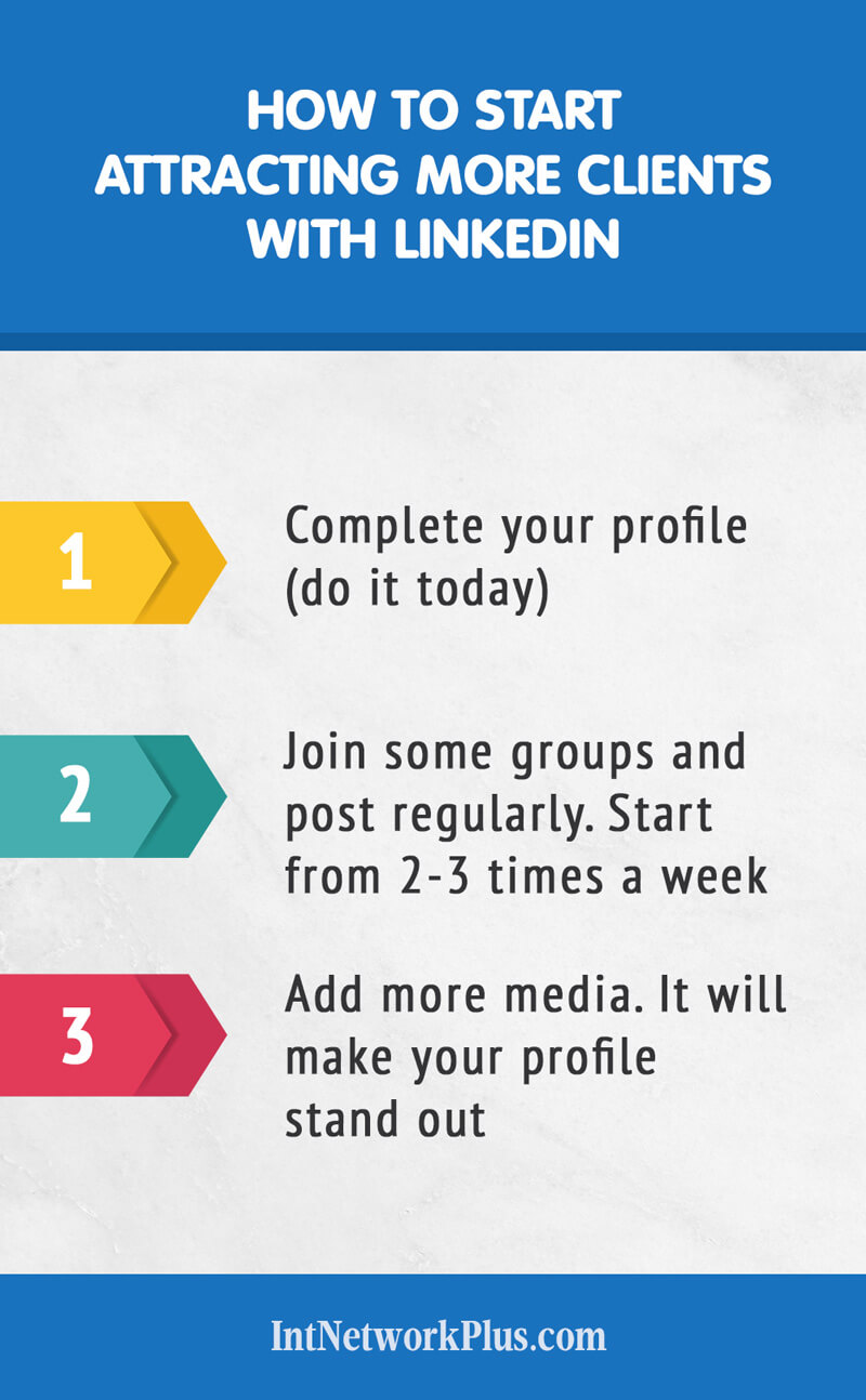 How to get more clients with LinkedIn if you are a creative entrepreneur