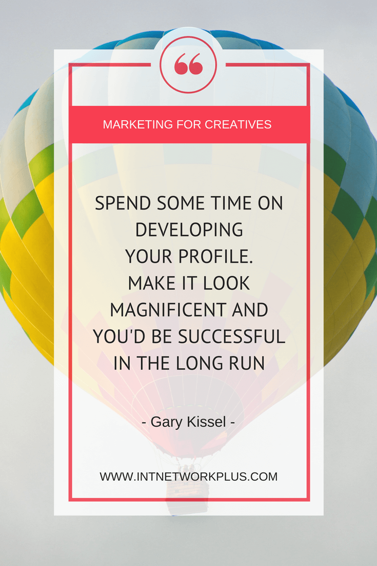 How to get more clients with LinkedIn if you are a creative entrepreneur. Interview with Gary Kissel on Marketing for Creatives show.