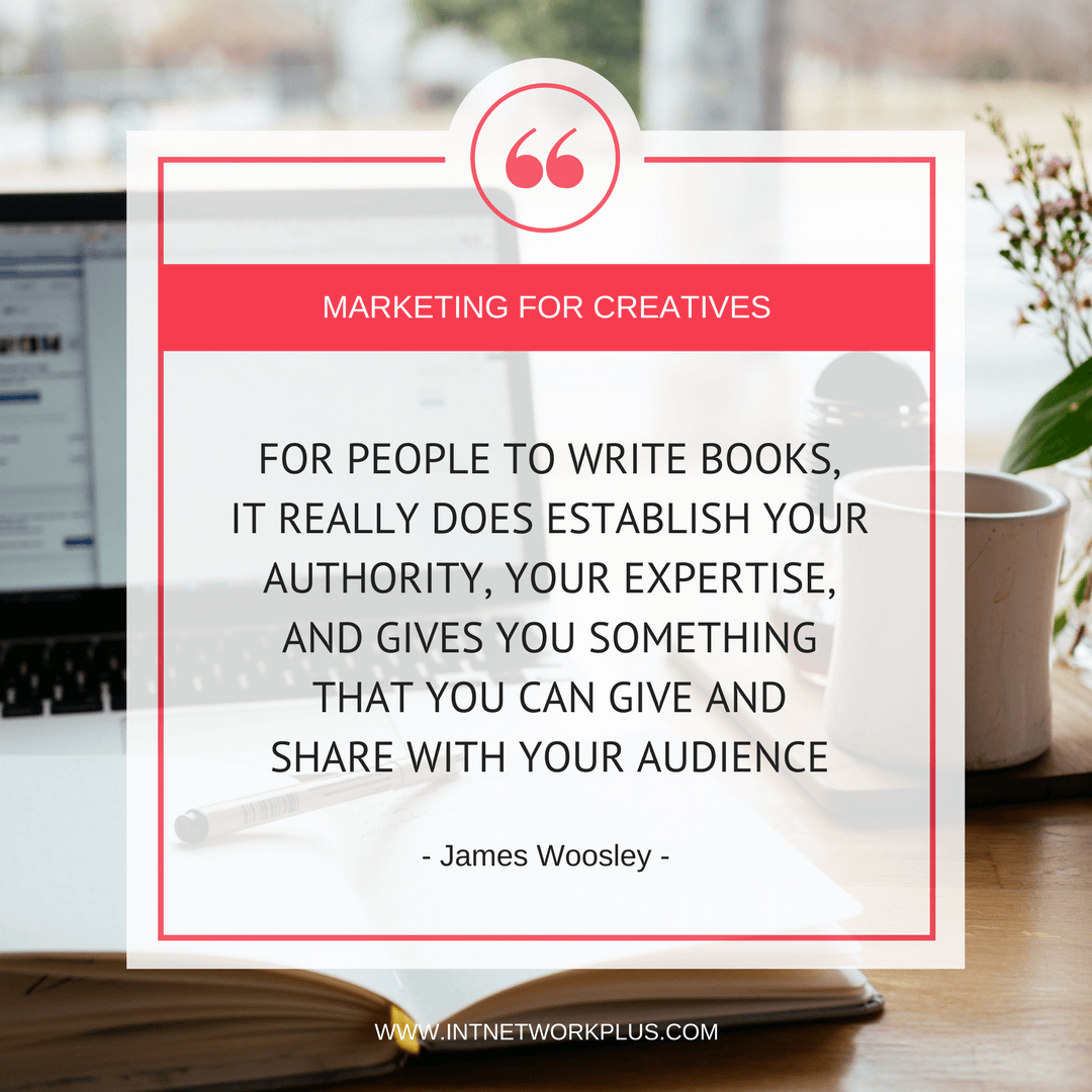 Have you dreamed of publishing your paper book? Learn how to publish a book even if you are not a writer with James Woosley
