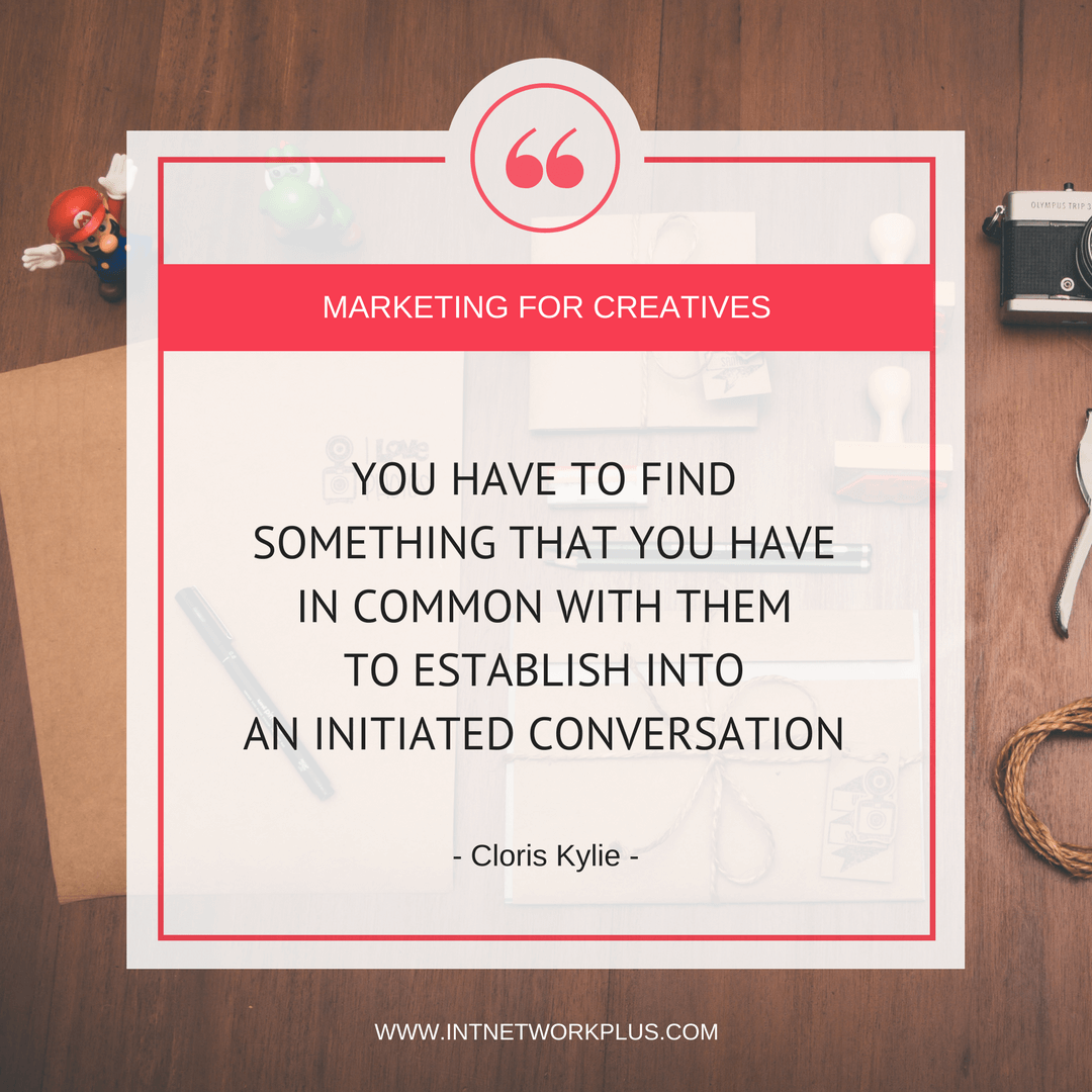 How to work with influencers to market your business. Business quote