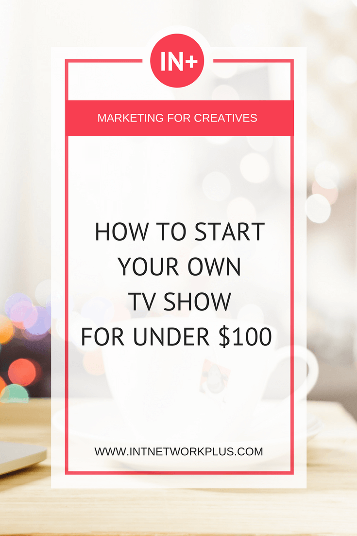 Have you dreamed of having your TV show? Get the strategy on how to create your own TV show for under $100 with Bonnie Bruderer via @MarinaBarayeva #smallbusiness #entrepreneur #smallbiz #tvshow #creativeentrepreneur #solopreneur #freelancer #mompreneur #ladyboss