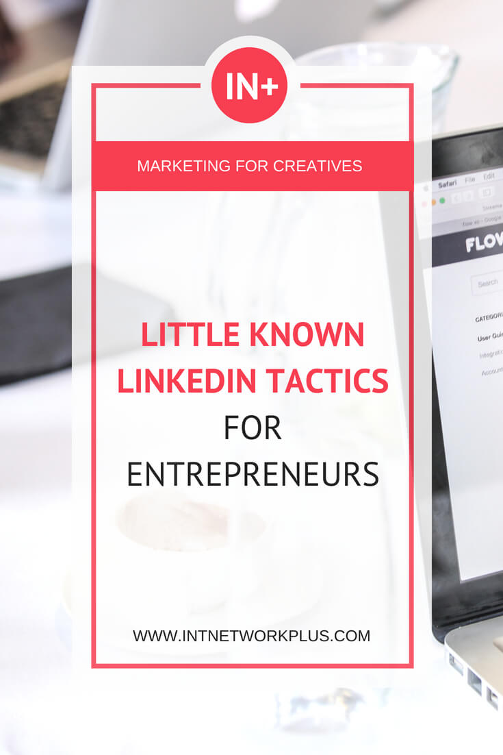 Even if you don't put much effort into LinkedIn use these little known LinkedIn tactics to get more opportunities for your business or professional career.  #linkedin #socialmedia #socialmediatips #smm #socialmediamarketing #entrepreneur #smallbusiness #smallbiz #mompreneur #womeninbusiness