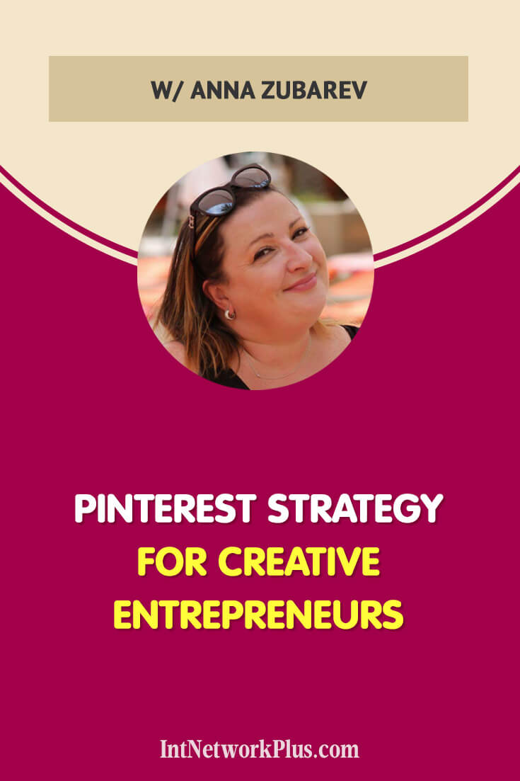 Pinterest is the social media platform which focuses on images. Many people ignore Pinterest as it's entirely different from typical Facebook or Instagram. Use this opportunity to get more traffic to your blog with the proven Pinterest strategy for creative entrepreneurs with @AnnaZubarev via @MarinaBarayeva #pinterest #blogging #contentmarketing #mompreneur #creativeentrepreneur #socialmedia #socialmediamarketing