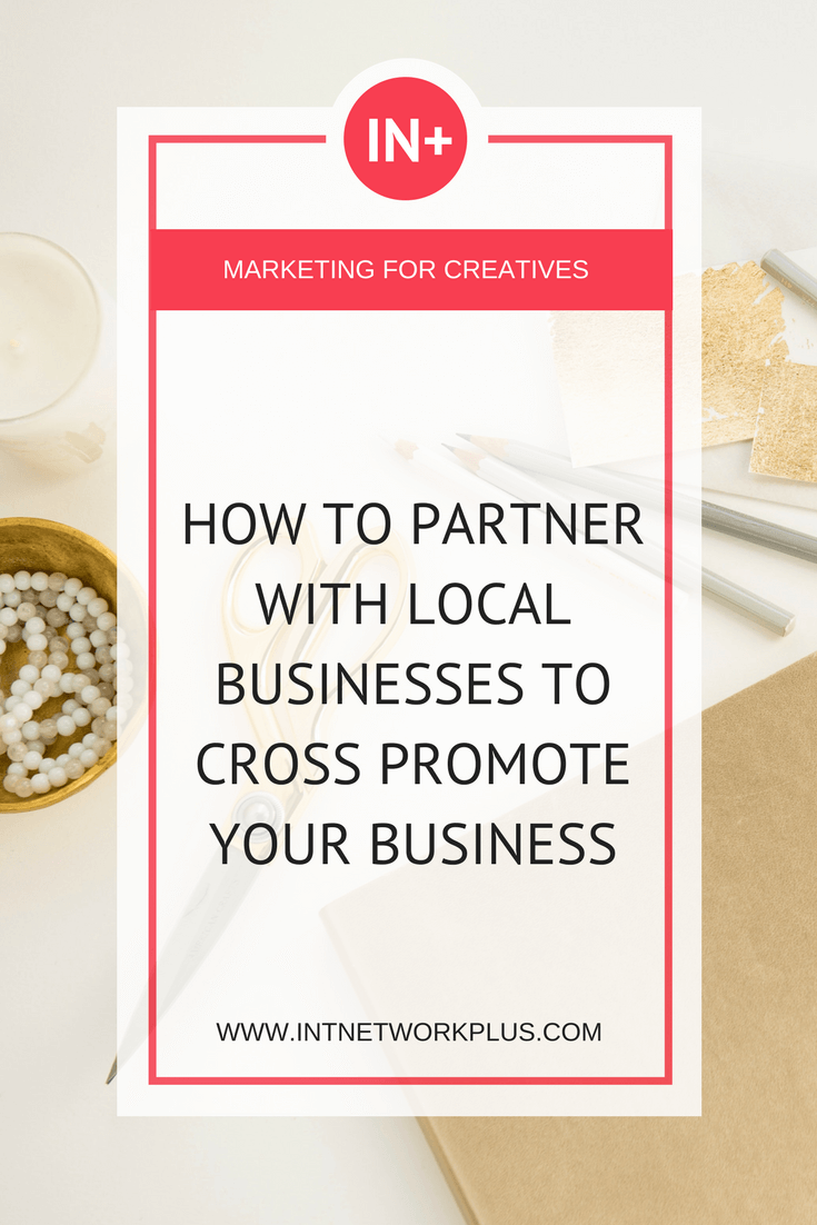 Get more tips on how to partner with local businesses to cross promote your business. There are people and other businesses who already work with your audience. You can multiply your marketing effort by collaborating with them. Via @MarinaBarayeva. #business #smallbusiness #smallbiz #entrepreneur #entrepreneurship #businesstips #marketing #creativeentrepreneur #creativebusiness #mompreneur #womaninbiz #ladyboss
