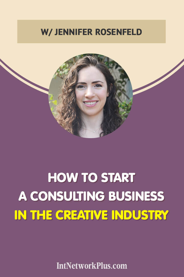 If you think about other ways to expand your business here are the tips on how to start a consulting business in the creative industry with Jennifer Rosenfeld. #business #smallbusiness #smallbiz #entrepreneur #entrepreneurship #businesstips #marketing#creativeentrepreneur #creativebusiness #mompreneur #womaninbiz #ladyboss