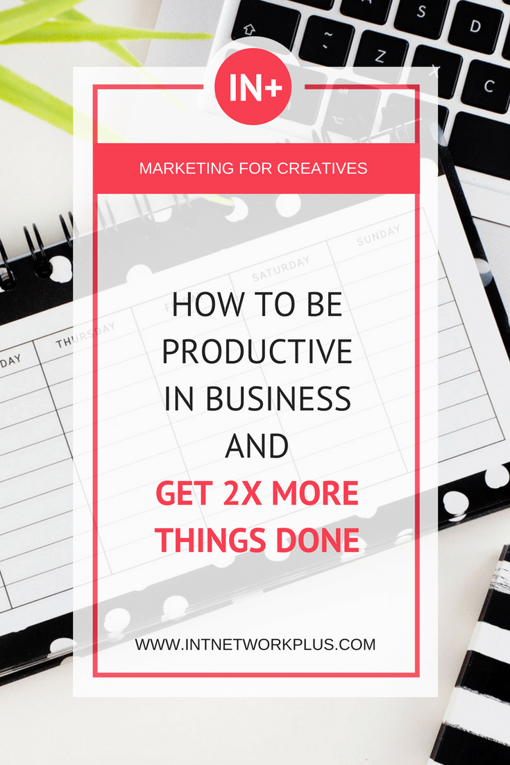 How to be productive in business and get at least 2x times more things done, via @MarinaBarayeva. #productivity #business #smallbusiness #smallbiz #entrepreneur #entrepreneurship #businesstips #marketing#creativeentrepreneur #creativebusiness #mompreneur #womaninbiz #ladyboss
