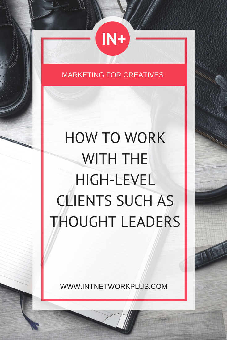 Did you hear everyone saying 'niche down,' 'work with the specific audience?' How scary is it to really narrow it down, right? But those who did that know that it works out well. Check these tips on how to work with the high-level clients such as thought leaders.  #business #smallbusiness #smallbiz #entrepreneur #entrepreneurship #businesstips #marketing #creativeentrepreneur #creativebusiness #mompreneur #womaninbiz #ladyboss #influencermarketing #womeninbusiness