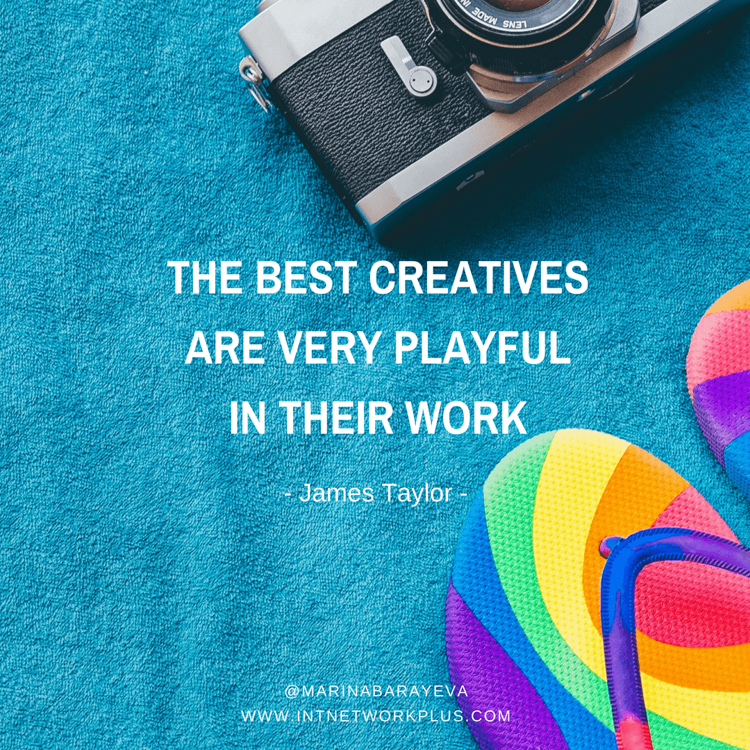"Do you consider yourself as a creative person who can bring something new on the table any time or the one who is a pro in one thing and for the rest you usually say ""no, I'm not so talented?"" Whether you are one or another, learn how to be even more creative. (via @MarinaBarayeva) #business #smallbusiness #entrepreneur #creativeentrepreneur #creativebusiness #mompreneur #womaninbiz #ladyboss #quotes #quotesoftheday #inspiration #Inspirationalquotes #businessquotes"