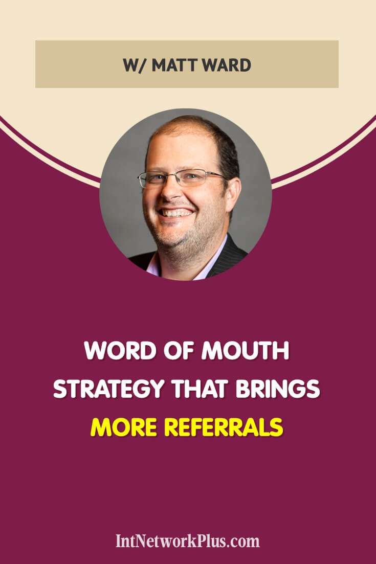 Word of mouth is still on top of marketing. It's always great when another person talks about your business and refer clients to you. But have you thought, that you can actually affect and improve your word of mouth strategy and get more referrals? Via @MarinaBarayeva. #business #smallbusiness #smallbiz #entrepreneur #entrepreneurship #businesstips #marketing #creativeentrepreneur #creativebusiness #mompreneur #womaninbiz #ladyboss