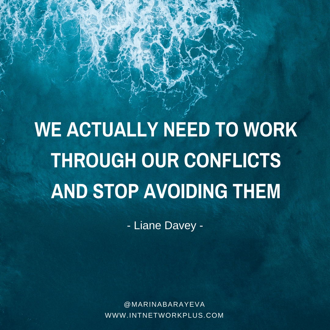 We tend to avoid any conflict situations by nature. However, that does not always solve the problem. Check these tips on how to face the conflicts and go through them. We will touch relationship with the employees, communication with the clients, and even the conflicts that can appear with friends and family (via @MarinaBarayeva). #business #smallbusiness #entrepreneur #creativeentrepreneur #creativebusiness #mompreneur #womaninbiz #ladyboss #quotes #Inspirationalquotes#businessquotes