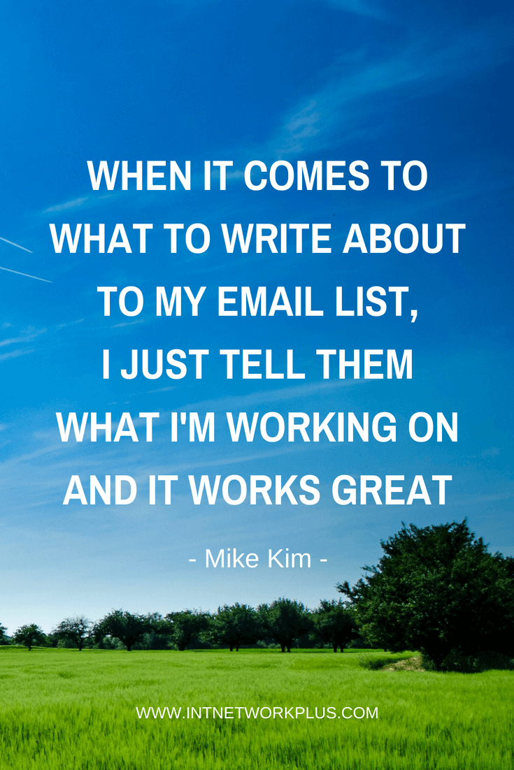 An email list is your digital asset. When people subscribe to your email list they give you the permission to write them. We are in a people to people business. Now your turn to grow this relationship. Learn how to write emails to your subscribers that they will wait for. (via @MarinaBarayeva) #emailmarketing #business #smallbusiness #entrepreneur #creativeentrepreneur #creativebusiness #mompreneur #womeninbusiness #ladyboss #inspiration #Inspirationalquotes#businessquotes