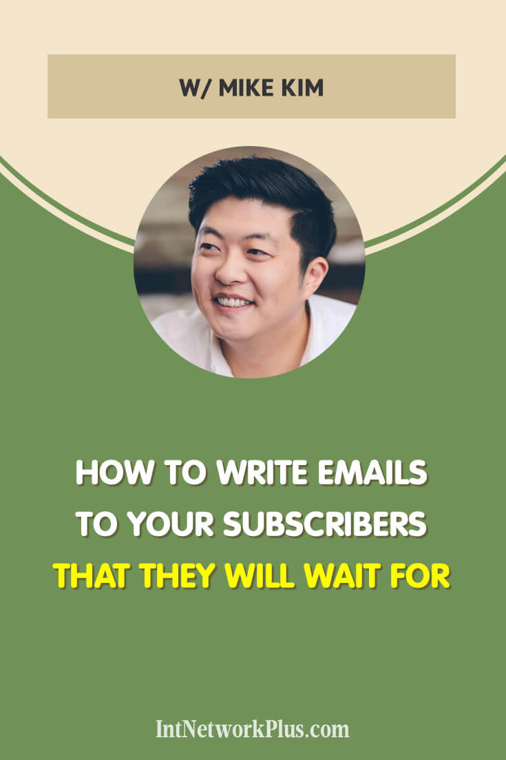 An email list is your digital asset. When people subscribe to your email list they give you the permission to write them. We are in a people to people business. Now your turn to grow this relationship. Learn how to write emails to your subscribers that they will wait for. (via @MarinaBarayeva) #emailmarketing #business #smallbusiness #smallbiz #entrepreneur #entrepreneurship #businesstips #marketing#creativeentrepreneur #creativebusiness #mompreneur #womeninbusiness #ladyboss