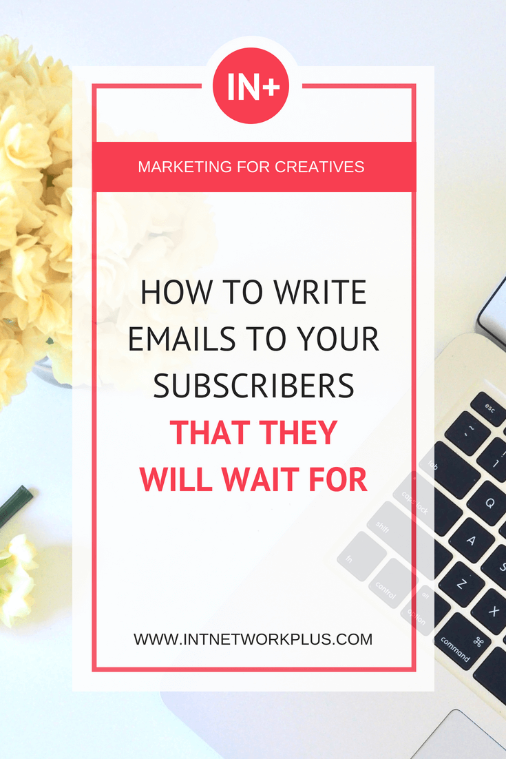 An email list is your digital asset. When people subscribe to your email list they give you the permission to write them. We are in a people to people business. Now your turn to grow this relationship. Learn how to write emails to your subscribers that they will wait for. (via @MarinaBarayeva) #emailmarketing #business #smallbusiness #smallbiz #entrepreneur #entrepreneurship #businesstips #marketing #creativeentrepreneur #creativebusiness #mompreneur #womeninbusiness #ladyboss