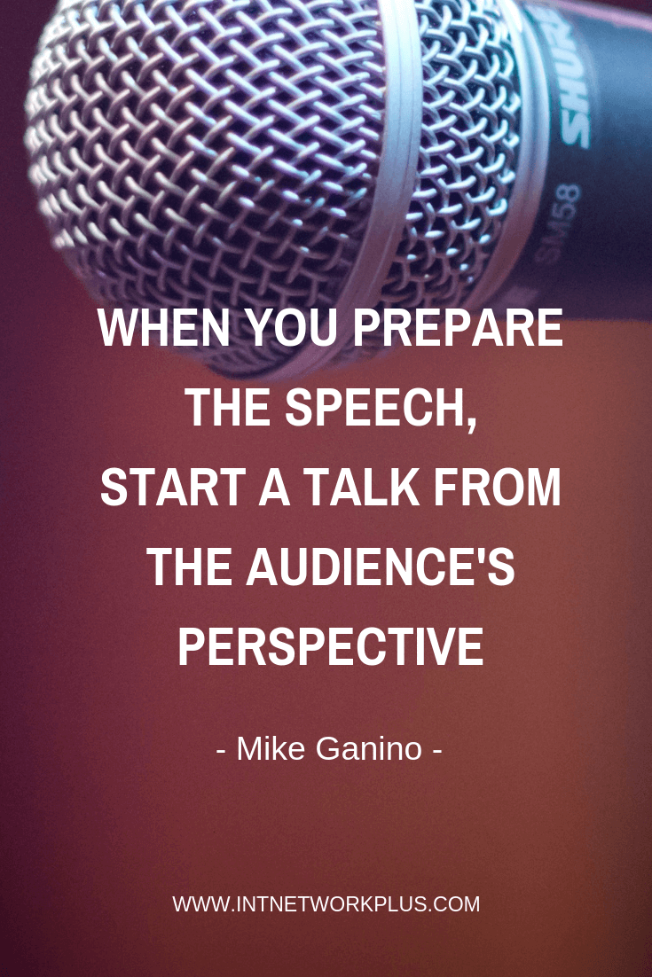 Learn how to turn a boring talk to a powerful speech that helps your small business. You will know how to start and finish the speech, how to make it more interesting and engaged for the audience and tips on selling during the speech, via @MarinaBarayeva. #business #smallbusiness #entrepreneur #creativeentrepreneur #creativebusiness #mompreneur #womeninbusiness #ladyboss #quotes #quotesoftheday #inspiration #Inspirationalquotes #businessquotes