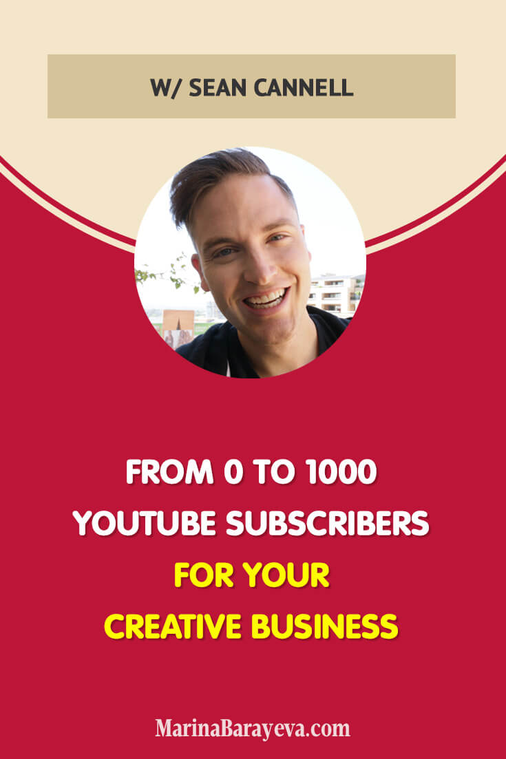 Learn how to grow from 0 to 1000 YouTube subscribers for your creative business. We'll talk about what you need to pay attention to when you start growing your channel and why having a good quality video isn't enough for being discovered. You'll get the tips on how often to post and how to speed up your growth. Via @MarinaBarayeva. #youtube #business #smallbusiness #entrepreneur #businesstips #marketing #creativeentrepreneur #creativebusiness #mompreneur #womaninbiz #ladyboss