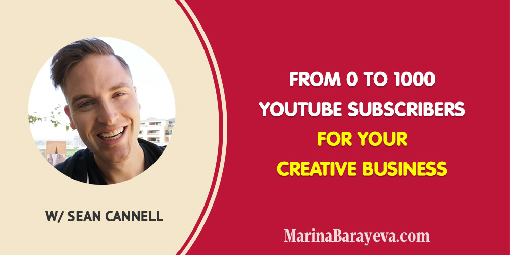 Learn how to grow from0 to 1000 YouTube subscribers for your creative business. We'll talk about what you need to pay attention to when you start growing your channel and why having a good quality video isn't enough for being discovered. You'll get the tips on how often to post and how to speed up your growth. Via @MarinaBarayeva. #youtube #business #smallbusiness #entrepreneur #businesstips #marketing#creativeentrepreneur #creativebusiness #mompreneur #womaninbiz #ladyboss