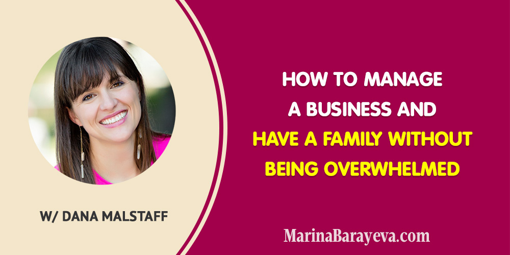 When you are a business person, it's difficult to find a balance between family and business. Sometimes end up feeling guilty that you don't have time for your family or your business doesn't bring the results. Learn how to manage a business and have a family without being overwhelmed. Via @MarinaBarayeva. #family #business #smallbusiness #smallbiz #entrepreneur #entrepreneurship #businesstips #marketing #creativeentrepreneur #creativebusiness #mompreneur #womaninbiz #ladyboss