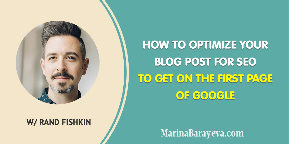 Learn how tooptimize your blog post for SEO to get on the first page of Google. There are many factors the affect SEO on your website: the keywords, quality of your article, meta tags and others. It seems a little complicated, but let's try to go through everything step by step. Via @MarinaBarayeva. #seo #blogging #contentmarketing #bloggingtips #business #smallbusiness #entrepreneur #businesstips #marketing#creativeentrepreneur #mompreneur #womaninbiz #ladyboss