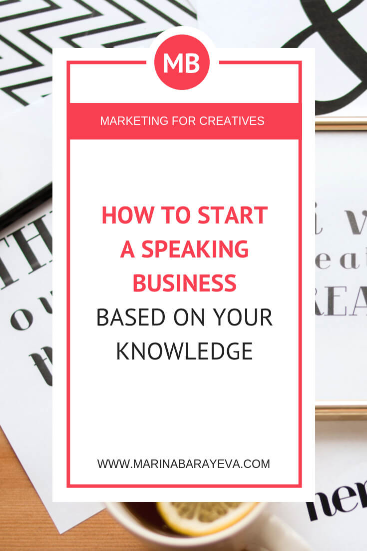Speaking is one of the fastest ways to start positioning yourself as an expert. You already have enough experience to share it with others. Learn how to build a speaking business based on what you already know or use it for marketing your business. Via @MarinaBarayeva. #business #smallbusiness #smallbiz #entrepreneur #entrepreneurship #businesstips #marketing#creativeentrepreneur #creativebusiness #mompreneur #womaninbiz #ladyboss