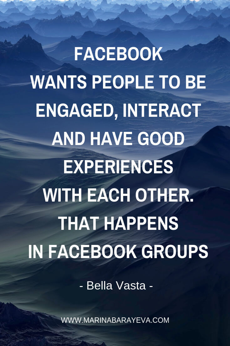 Learn how to use Facebook groups for marketing your business. You will know how to start a Facebook group for business, grow it, and use it for selling your stuff. Facebook groups are a great way to build the community and more personal conversations. Via @MarinaBarayeva. #business #smallbusiness #entrepreneur #creativebusiness #mompreneur #womeninbusiness #ladyboss #quotes #quotesoftheday #businessquotes