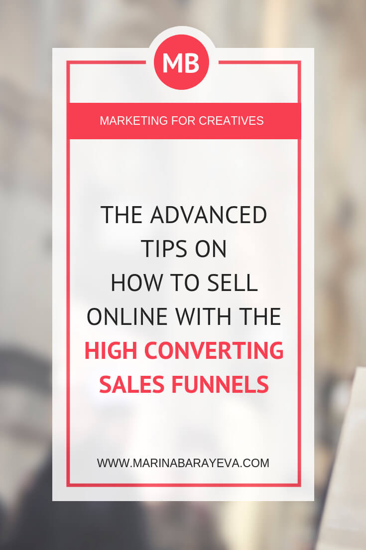 Once you understand how the sales funnels work it will be easier for you to have more sales. Here is how to sell online with the high converting sales funnels. Learn about each step you need for the online sales funnel and tricks that successful online entrepreneurs use to get leads and clients, via @MarinaBarayeva. #selling #business #smallbusiness #smallbiz #entrepreneur #entrepreneurship #businesstips #marketing #creativeentrepreneur #creativebusiness #mompreneur #womaninbiz #ladyboss