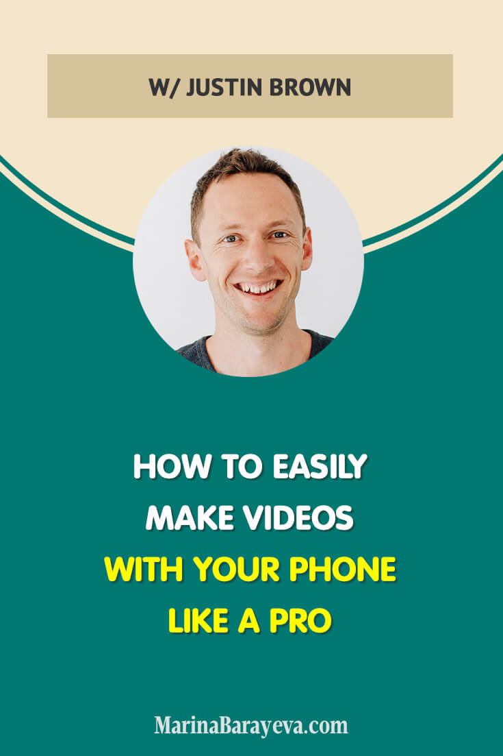 Learn how to easily make videos with your phone like a pro. You will know the basic equipment you need for making videos with your phone, how to fast edit videos with the phone apps, how to create the stunning thumbnails and many more, via @MarinaBarayeva. #videomarketing #youtube #youtubemarketing #vlog #business #smallbusiness #smallbiz #entrepreneur #entrepreneurship #businesstips #marketing#creativeentrepreneur #creativebusiness #mompreneur #womaninbiz #ladyboss