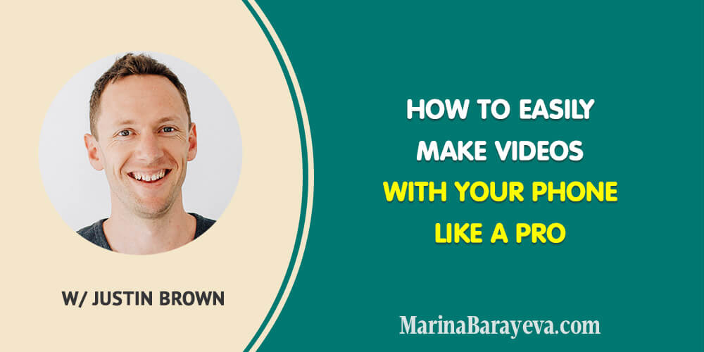 Learn how to easily make videos with your phone like a pro. You will know the basic equipment you need for making videos with your phone, how to fast edit videos with the phone apps, how to create the stunning thumbnails and many more, via @MarinaBarayeva. #videomarketing #youtube #youtubemarketing #vlog #business #smallbusiness #smallbiz #entrepreneur #entrepreneurship #businesstips #marketing #creativeentrepreneur #creativebusiness #mompreneur #womaninbiz #ladyboss