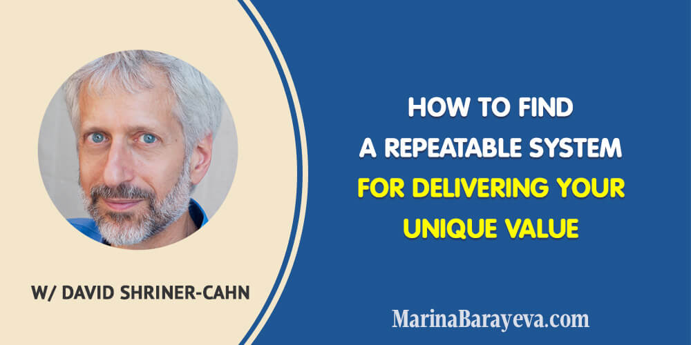 It may take a lot of time tofind out what's so special about you that people will need and you canbuild a business around. Learn how to find a repeatable businesssystem for delivering your unique value and what mistakes to avoid, via @MarinaBarayeva. #business #smallbusiness #smallbiz #entrepreneur #entrepreneurship #businesstips #marketing#creativeentrepreneur #creativebusiness #mompreneur #womaninbiz #ladyboss