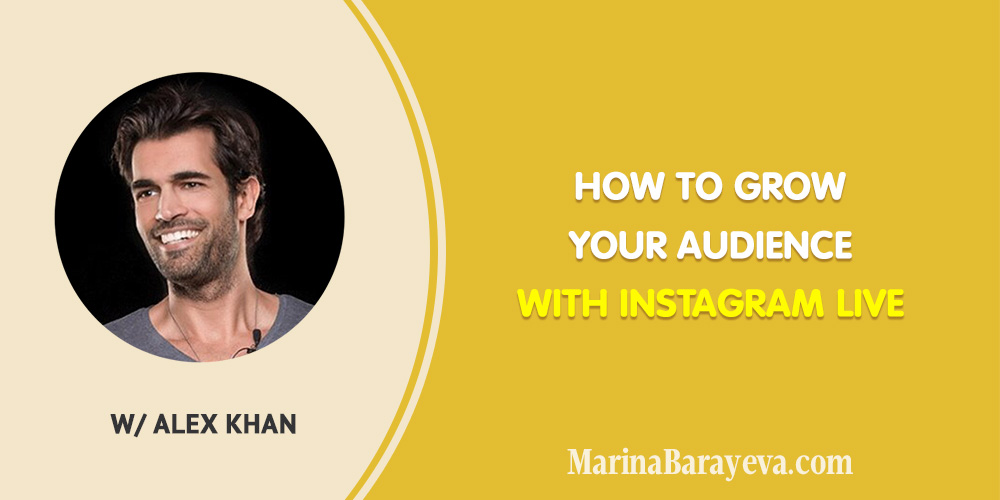 Learn how to grow your audience with Instagram Live. The newest Instagram growth tactics, many ideas on what to stream about and how to reach more people, via @MarinaBarayeva. #instagram #instagramlive #socialmedia #socialmediamarketing #smm #business #smallbusiness #smallbiz #entrepreneur #entrepreneurship #businesstips #marketing #creativeentrepreneur #creativebusiness #mompreneur #womaninbiz #ladyboss