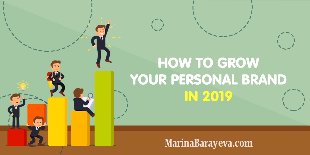 Learn how to grow your personal brand in 2019. Get the complete guide from positioning your personal brand to getting more media exposure for you. Via @MarinaBarayeva. #personalbrand #brand #branding #business #smallbusiness #smallbiz #entrepreneur #entrepreneurship #businesstips #marketing#creativeentrepreneur #creativebusiness #mompreneur #womaninbiz #ladyboss