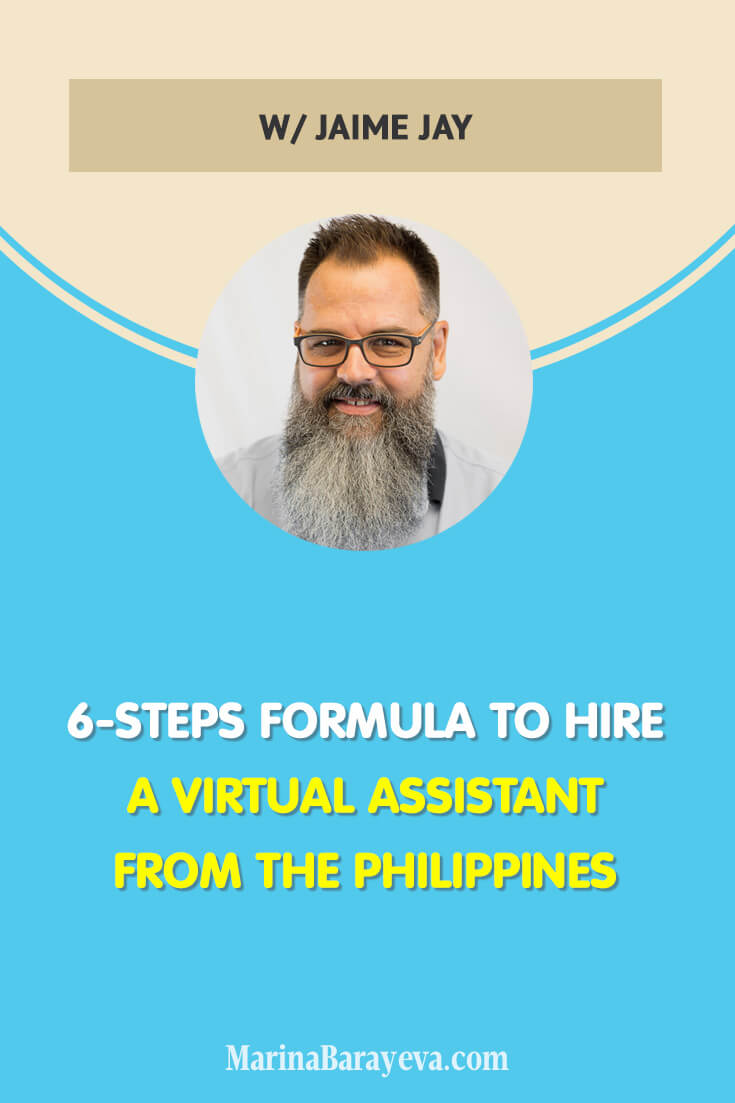 At one point in your business, you will need to delegate part of your work. Here is a 6-Steps Formula to Hire a Virtual Assistant from the Philippines. From deciding what work to delegate to going through all the process of searching, selecting a candidate, setting the salary and hiring (via @MarinaBarayeva). #virtualassistant #business #smallbusiness #smallbiz #entrepreneur #entrepreneurship #businesstips #marketing #creativeentrepreneur #creativebusiness #mompreneur #womaninbiz #ladyboss