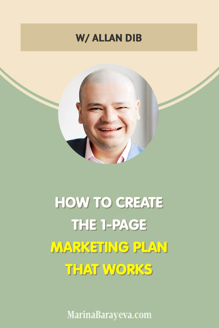 Learn how to create the 1-page marketing plan that works. We'll put it into the nine steps system that you can repeat and adjust to your business any time, via @MarinaBarayeva. #business #smallbusiness #smallbiz #entrepreneur #entrepreneurship #businesstips #marketing #creativeentrepreneur #creativebusiness #mompreneur #womaninbiz #ladyboss
