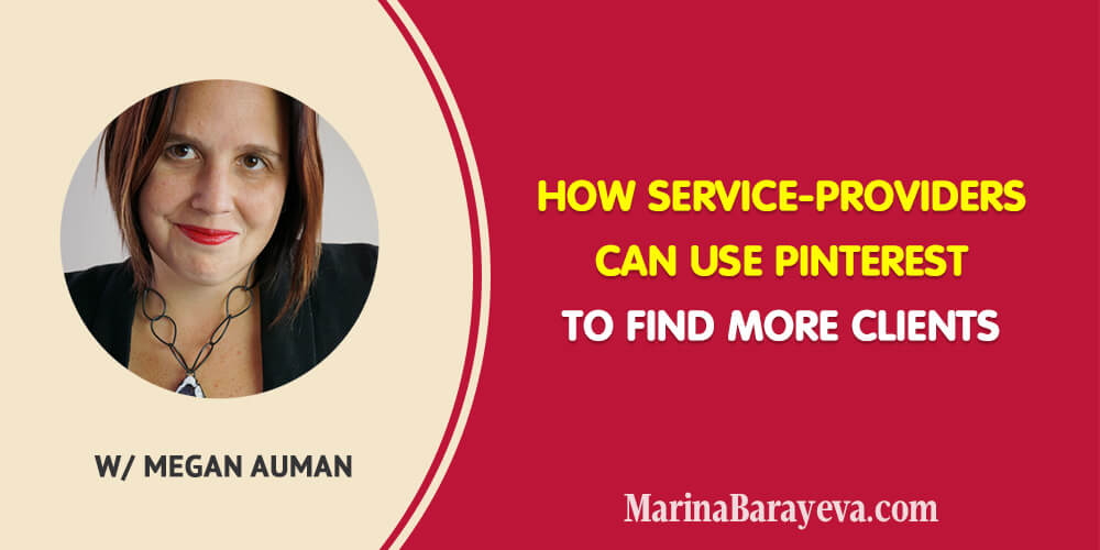 Pinterest is a visual platform and if you provide any kinds of services then you probably still didn't take it seriously as a marketing tool. You will know how to leverage the visuals on Pinterest to drive traffic to your website or landing pages and convert people to the clients, via @MarinaBarayeva. #pinterest #socialmedia #smm #business #smallbusiness #smallbiz #entrepreneur #entrepreneurship #businesstips #marketing #creativeentrepreneur #creativebusiness #mompreneur #womaninbiz #ladyboss