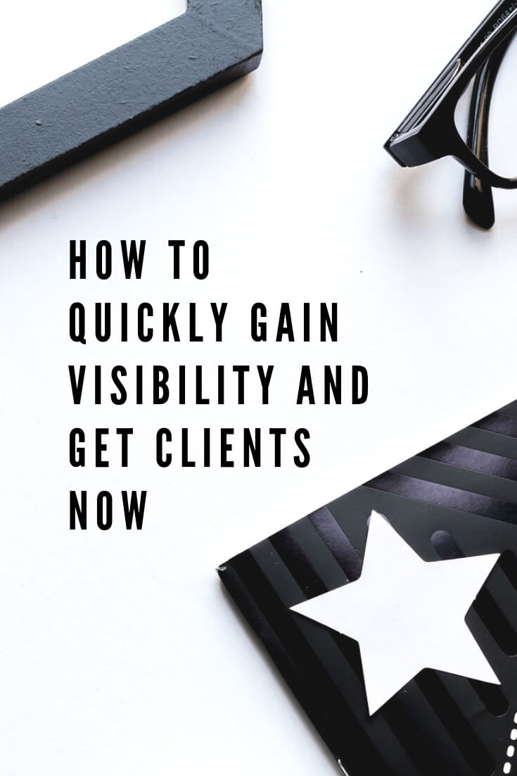 While growing a stable profitable business takes time there are always some shortcuts. Learn 3 simple strategies to get visible and get clients now, via @MarinaBarayeva. #business #smallbusiness #smallbiz #entrepreneur #entrepreneurship #businesstips #marketing #creativeentrepreneur #creativebusiness #mompreneur #womaninbiz #ladyboss