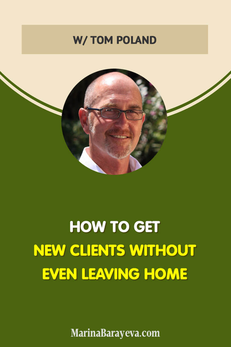 If you have a service that you can deliver online, then get new clients without even leaving home. Learn how to generate leads and build the system online that will allow you to get new clients working from anywhere, via @MarinaBarayeva. #business #smallbusiness #smallbiz #entrepreneur #entrepreneurship #businesstips #marketing #creativeentrepreneur #creativebusiness #mompreneur #womaninbiz #ladyboss