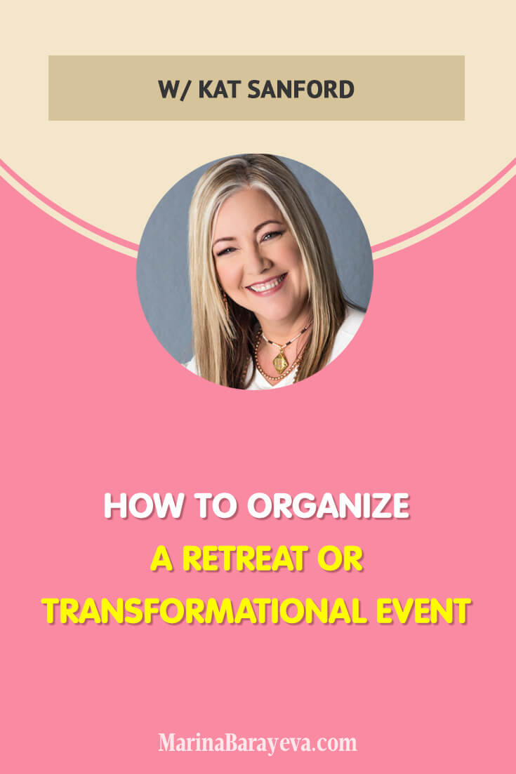 Organizing an event outside of a city and maybe a country is so interesting and exciting. Learn how to organize a retreat or transformational event. Consider that as an adventure where people will get valuable information from you, different insights and will have a great time, via @MarinaBarayeva. #retreat #business #smallbusiness #smallbiz #entrepreneur #entrepreneurship #businesstips #marketing #creativeentrepreneur #creativebusiness #mompreneur #womaninbiz #ladyboss