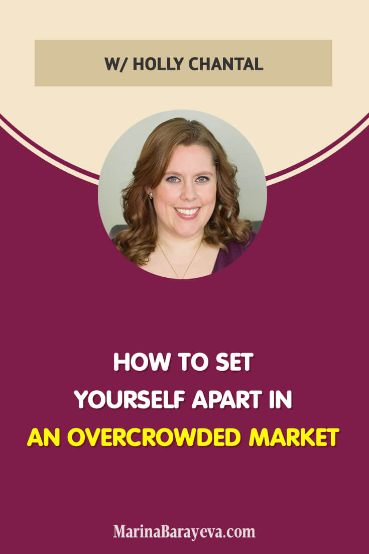 Learn how to set yourself apart in an overcrowded market. In fact, you already have everything you need to stand out. Here is how to define that thing that makes you different and apply it to your marketing. Via @MarinaBarayeva. #personalbrand #branding #personalbranding #business #smallbusiness #smallbiz #entrepreneur #entrepreneurship #businesstips #marketing #creativeentrepreneur #creativebusiness #mompreneur #womaninbiz #ladyboss