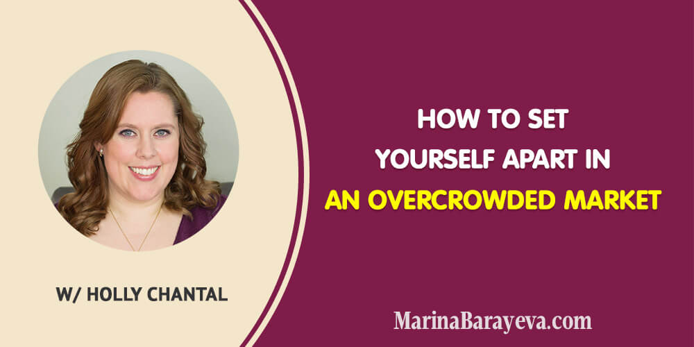 Learn how to set yourself apart in an overcrowded market. In fact, you already have everything you need to stand out. Here is how to define that thing that makes you different and apply it to your marketing. Via @MarinaBarayeva. #business #smallbusiness #smallbiz #entrepreneur #entrepreneurship #businesstips #marketing #creativeentrepreneur #creativebusiness #mompreneur #womaninbiz #ladyboss