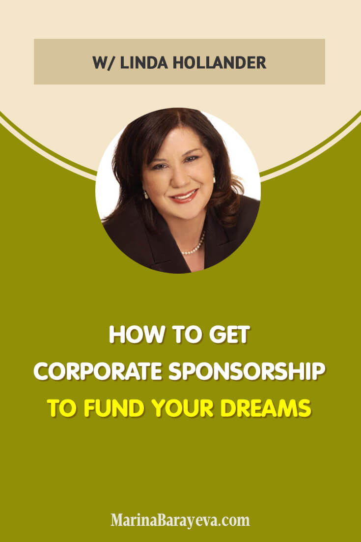 Just imagine if someone would give you $10,000 or maybe even $100,000 to do what you want; wouldn't it be great? Learn how to find the corporate sponsors, how to write the proposal to have more chances to get the sponsorship, and how to get companies to sponsor you for a few years, via @MarinaBarayeva. #business #smallbusiness #smallbiz #entrepreneur #entrepreneurship #businesstips #marketing #creativeentrepreneur #creativebusiness #mompreneur #womaninbiz #ladyboss