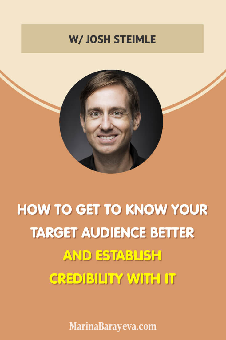 Learn how to get to know your target audience better and establish credibility with it. You will know how to find out more about your ideal clients through interviewing people from your target audience, how to reach out to the top professionals in your industry, and how to establish yourself as an expert, via @MarinaBarayeva. #business #smallbusiness #smallbiz #entrepreneur #entrepreneurship #businesstips #marketing #creativeentrepreneur #creativebusiness #mompreneur #womaninbiz #ladyboss